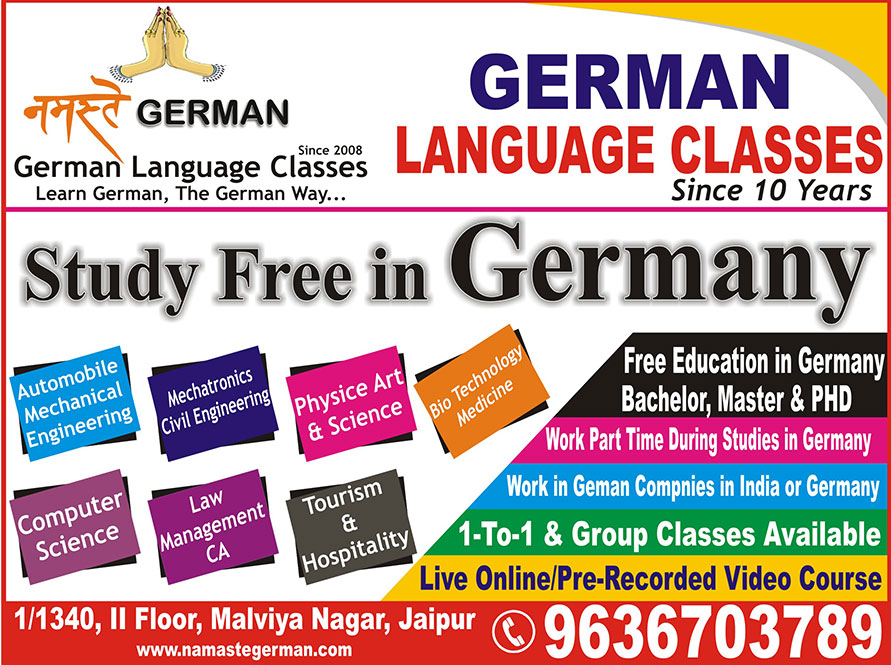 Namaste German Best German Language Classes In Jaipur German