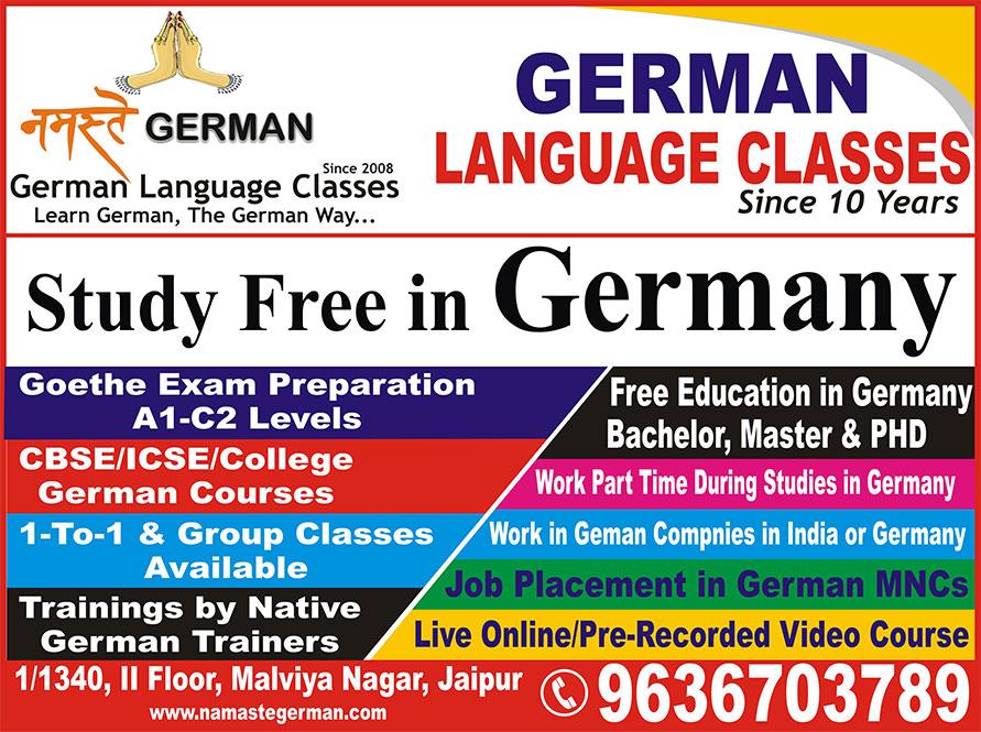 Namaste German: Best German Language Classes in Jaipur